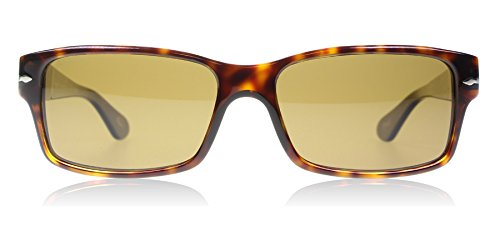 Persol Sunglasses - PO2803 / Frame: Havana Lens: Crystal Brown Polarized - Sunglasses Persol
