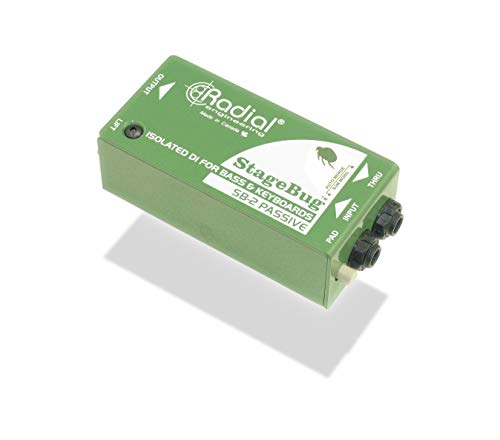 Radial StageBug SB-2 1-channel Passive Instrument Direct Box ()