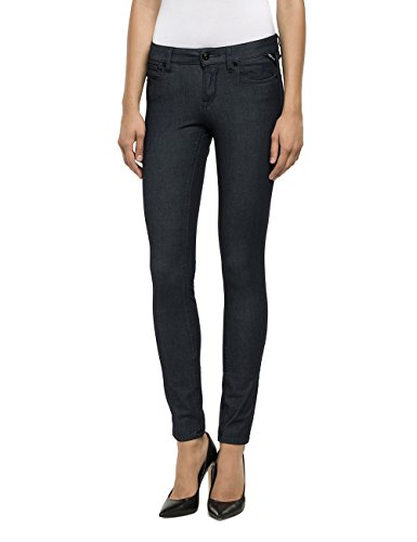 Pantaloni Donna raw Luz Replay 7 Grau Grey ZOqaW1gw5