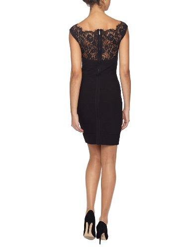 Kleider schwarz mit spitze