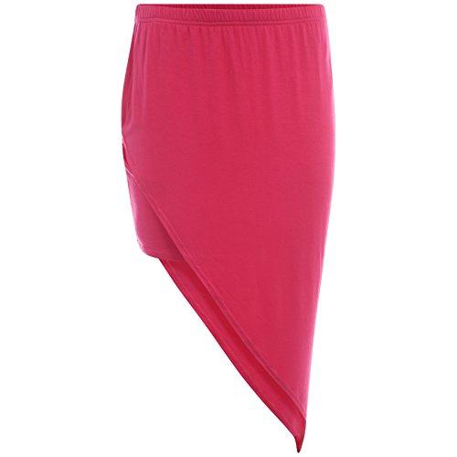 Get The Trend - Falda - para mujer Cereza