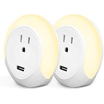 iMah Smart Outlet Plug, WiFi Smart Plug with Night Light