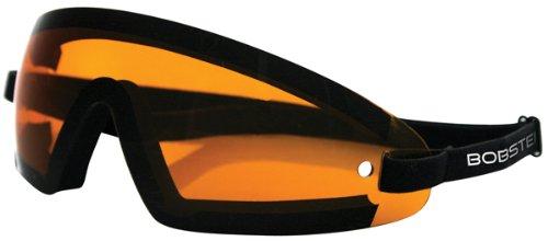 Zan Headgear Wrap Goggles , Primary Color: Black, Distinct Name: Black/Amber Lens, Gender: Mens/Unisex BW201A ()
