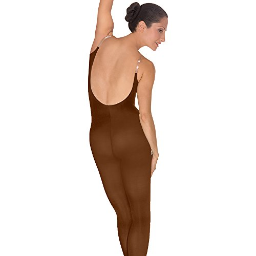 Body Wrappers Soft Body Tights, Coffee, Large/X-Large