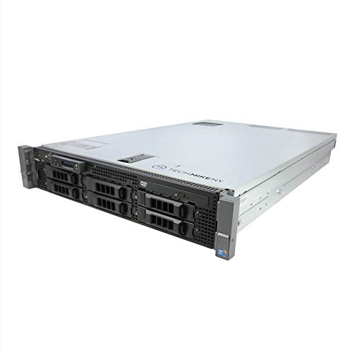 High-End Virtualization Server 12-Core 144GB RAM 12TB RAID Dell PowerEdge R710 Bezel and Rails (Certified Refurbished)