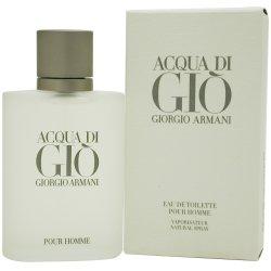 Acqua Di Gio de Giorgio Armani pour les hommes. Eau de Toilette Vaporisateur 6,7 Onces