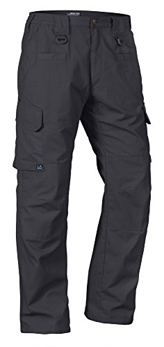 Fabric Elastic Waistband - LA Police Gear Operator Tactical Pants with Elastic Waistband Charcoal 44 x 30