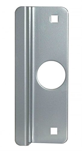 Donjo Latch (Don-Jo LP-307-SL Latch Protector, For Aluminum Entry Out-swinging Doors, 2-5/8