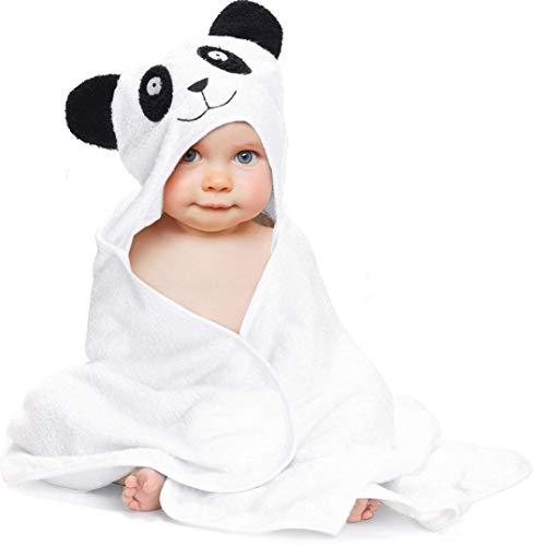 Baby Towel with Hood - 100% Organic Bamboo Hooded Panda Towel - Lilgoo by LilGoo (Image #2)