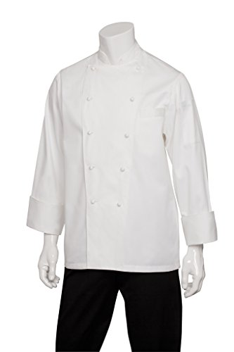 Chef Works Men's Madrid Executive Chef Coat (ECHR) by Chef Works