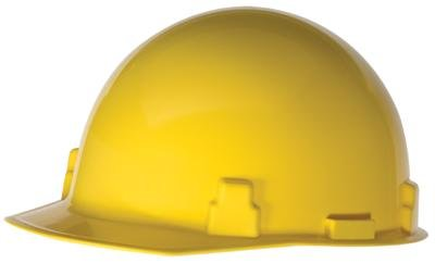 Radnor Yellow SmoothDome Polyethylene Cap Style St