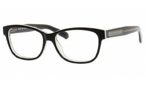 Marc by Marc Jacobs MMJ586 Eyeglasses-0FLO Black White Gray-52mm