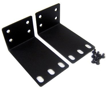 Premium Rack Mounting Ears With Screws For 1U Rack Installation