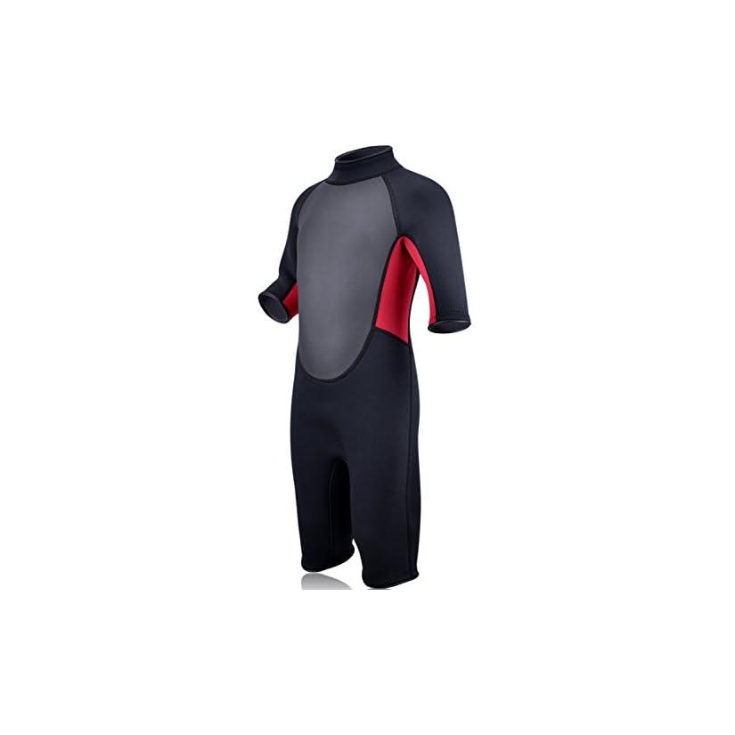 REALON Wetsuits for Children Premium Neoprene 3mm Youth s Kids ... 4b296bbe3