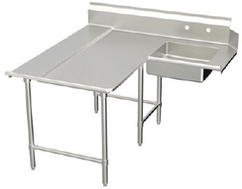 Elkay SSP LLC DDTLE-84-L Standard L-Shaped Soiled Dishtable