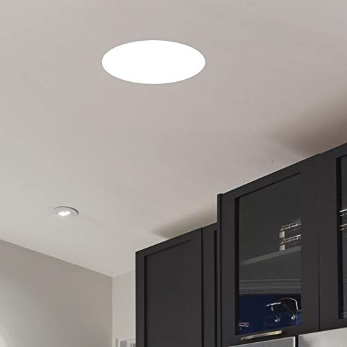 11'' Ceiling Light with White Diffuser (White Finish) by Lighting by AFX (Image #1)
