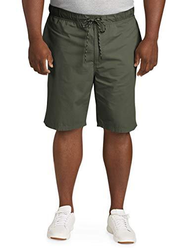 Amazon Essentials Men's Big & Tall Drawstring Walk Short, Olive, 3X