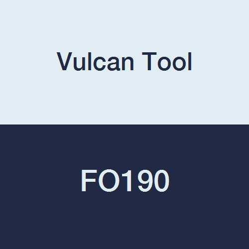 Vulcan Tool FO190 Flat Chisel, Round Shank/Oval Collar, 108'' by Vulcan Tool