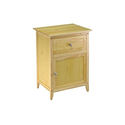 Julie Living Room (Winsome Wood Natural Beechwood End/Accent Table)