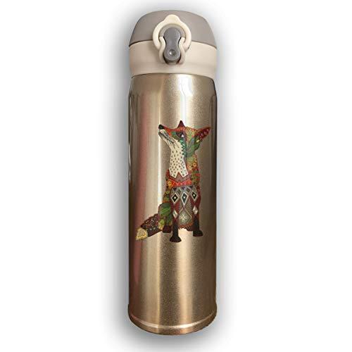 Thermoses Stainless Steel Coffee Mug Fox Love Juniper