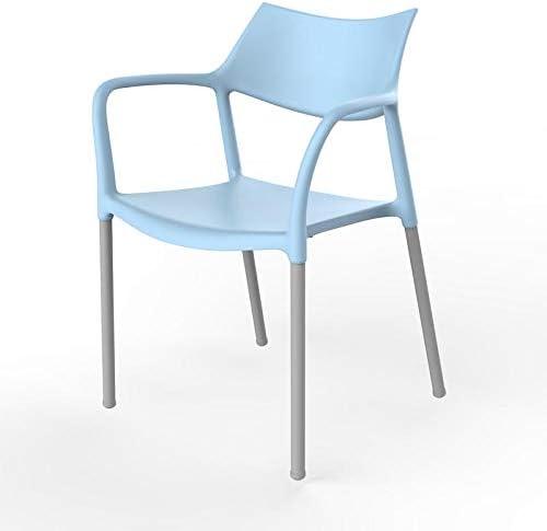 resol grupo Splash Bar Set de 2 sillas con Brazos de diseño para Interior, Exterior, jardín, Azul Cielo, 79 x 57 x 54 cm: Amazon.es: Juguetes y juegos