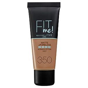 Maybelline Fit Me Matte Poreless Foundation 350 Caramel