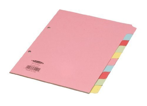 CONCORD DIVIDER A5 10 PART ASSORTED J21 by Concord -