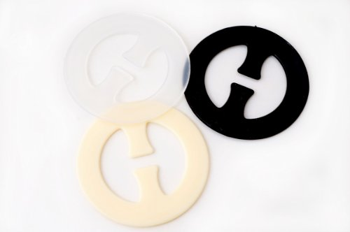 Pack of 3 Smart Perfect Bra Strap Clips Accessories (Round Shape), 20 Packs