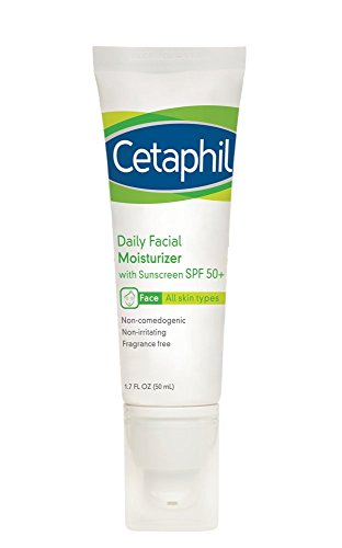 Cetaphil Daily Facial Moisturizer with Sunscreen, SPF 50+, 1