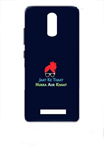 sale retailer b7352 2a7df JAAT KE That  REDMI Note 3 case Cover Printed REDMI: Amazon.in ...