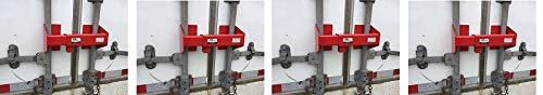 Equipment Lock HDCDL Steel Heavy Duty Cargo Door Lock (4-(Pack))