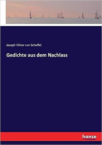 Buy Gedichte Aus Dem Nachlass Book Online At Low Prices In