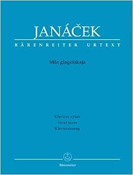 Partition classique BARENREITER JANACEK L. - GLAGOLITIC MASS - VOCAL SCORE Voix solo, piano