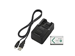 Sony ACCTRBX Battery Charger, Battery and USB Cable (Black) (B009OZVIJ4) | Amazon price tracker / tracking, Amazon price history charts, Amazon price watches, Amazon price drop alerts