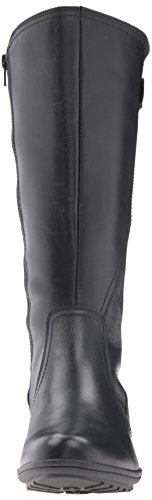 Rockport Cobb Hill Women's Cobb Hill Rayna Wide Calf Rain Boot, Black, 9 W US by Rockport (Image #4)