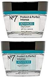 No7 Protect & Perfect Intense Day Cream + Protect & Perfect Intense Night Cream Advanced