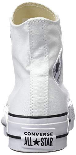 Converse 102 Ctas Zapatillas white Black white Unisex Hi black Adulto white Altas Blanco Lift rrOwxqCp