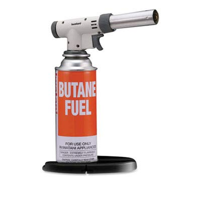 Iwatani International CB-TC-PRO 2 Iwatani PRO2 Culinary Butane Torch for sous vide, crème brulee, pastries, camping and so much more
