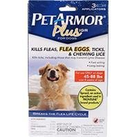 Pet Armor Plus Igr Flea & Tick Topical For Dogs
