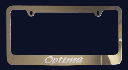 Kia Optima License Plate Frame (Zinc (Kia Frame)