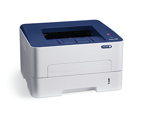Xerox Phaser 3260/DNI Monchrome Wireless Laser Printer (White and Blue)