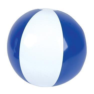 Set of 6 ~ 16'' Beach Balls ~ Blue & White beach ball inflates ~ PATRIOTIC BEACH BALLS ~ Pool Decor Beach Favor Water Play Fun Outdoor Birthday Party by RIN ()
