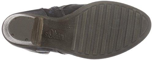s.Oliver 26105 - botas de caño bajo de material sintético mujer negro - negro