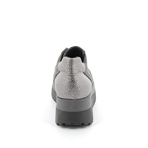amp;scarpe Sneakers Alesya Gris Sport By Donna Scarpe R6nxUAqz