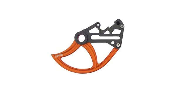 7602 Racing Front Disc Guard Orange for KTM 500 EXC-F 2017-2018