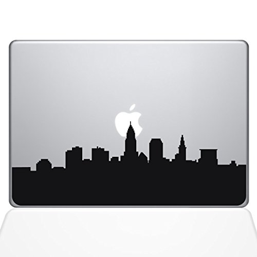 The Decal Guru Cleveland OH City Skyline Decal Vinyl Sticker
