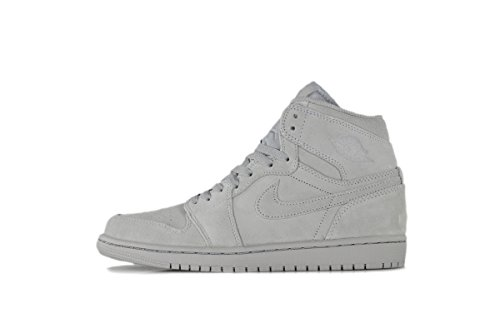 Uomo Nike Air Jordan 1 Retro High Wolf Grey 332550-031 (TAGLIA: 11,5)