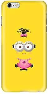 Stylizedd Apple iPhone 6Plus Premium Slim Snap case cover Gloss Finish - Girly Minion 2