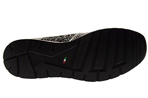 P805244d 105 Giardini Basse Scarpe Scarpe Ginnastica Nero Da Grigio Donna Da T81qzwq
