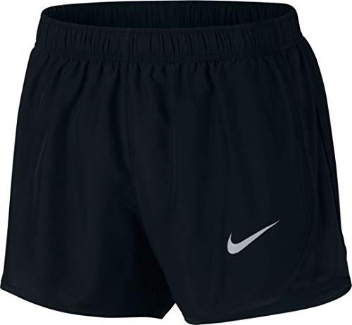 Tempo Nike Shorts Dri Women Running Fit (Nike Womens Tempo Running Shorts Black/Wolf Grey 831558-014 Size Medium)